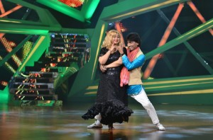 Raju and Shikha during their performance on Nach Baliye-6