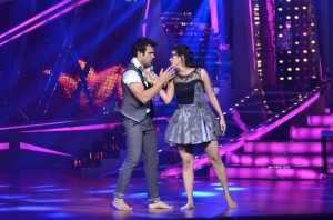 Rithvik and Asha during their performance on Nach Baliye -6