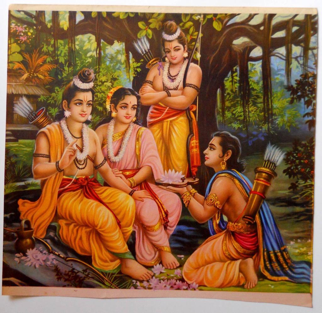 Aaye hain prabhu Shri Ram Bharat phoole na samaate hain