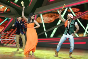 Parineeti dancing with Terence on Nach Baliye-6