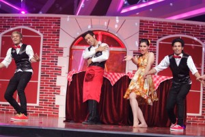Ripu and Shivangi Performing with D Maniax on Nach Baliye-6